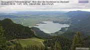 HD Panorama Blick vom Herzogstand Norden auf den Kochelsee