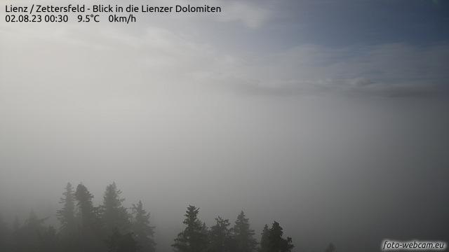 Wetter und Livebild Skigebiet Zettersfeld (Lienz), Livecam und Webcam Skigebiet Zettersfeld (Lienz) - 1800 Meter Seehöhe